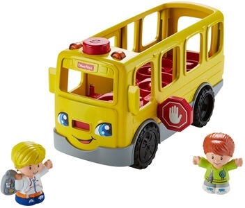 Fisher-Price Little People Sit with Me Skolebus