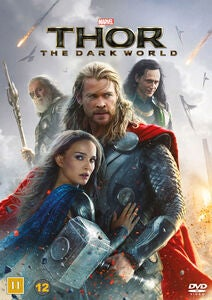 Marvel Thor 2 The Dark World DVD