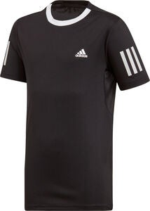 Adidas Boys Club 3-Stripes T-shirt Træningstrøje, Black