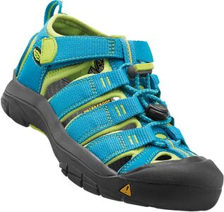 KEEN Newport H2 Little Kids Sandaler, Hawaiian Blue/Green Glow