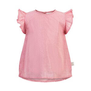 Creamie Bluse, Pink Icing