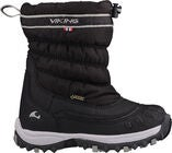 Viking Windchill GTX Vinterstøvler, Black/Charcoal