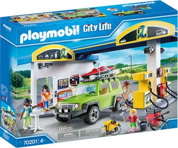 Playmobil 70201 Benzinstation